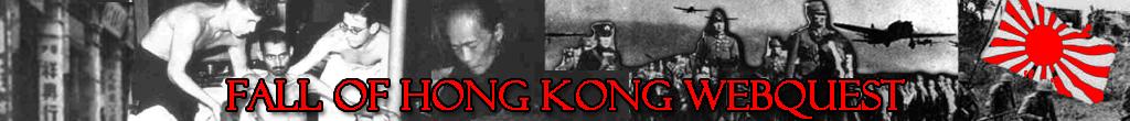 Fall of Hong Kong WebQuest