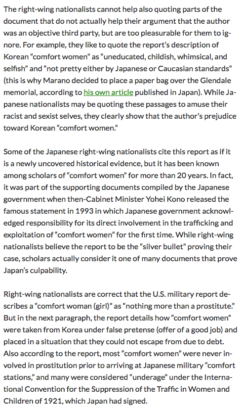 does u s military report prove ldquo comfort women rdquo were ldquo just screen shot 2015 04 19 at 10 20 01 am